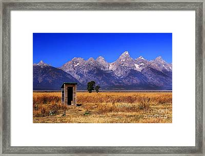 A Room With Quite A View Framed Print