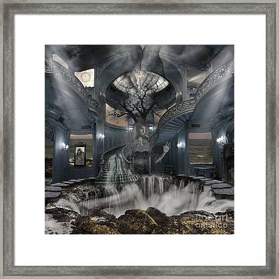 A Room Within My Mind Framed Print by Keith Kapple