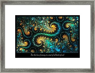 A Root Framed Print