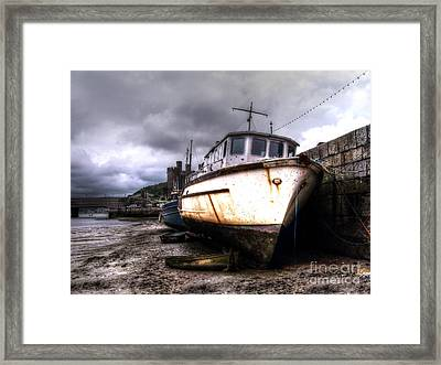 Framed Print featuring the photograph A Rough Ride by Doc Braham