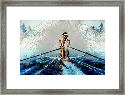 A Rowers Dream Framed Print by Hanne Lore Koehler