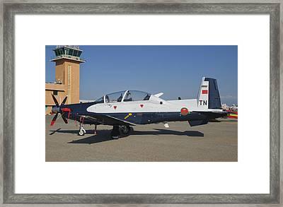 A Royal Moroccan Air Force T-6 Texan II Framed Print