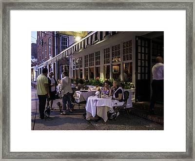 A Sag Harbor Night  Framed Print by Madeline Ellis