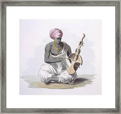 A Sarinda, Or Hindostan Type Violin Framed Print