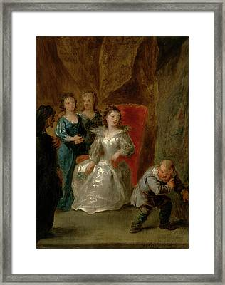 A Scene From Don Quixote Vol.ii Framed Print by Litz Collection