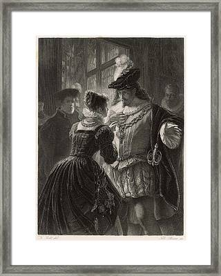 A Scene From Shakespeare's Comedy (or Framed Print by Mary Evans Picture Library