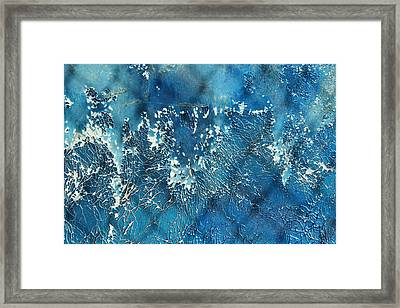 A Sea Of Patterns Framed Print