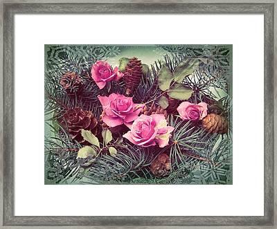 A Season Of Love Framed Print by Shirley Sirois