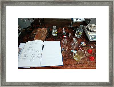 A Second Year Practical Framed Print by Rob Judges/oxford University Images