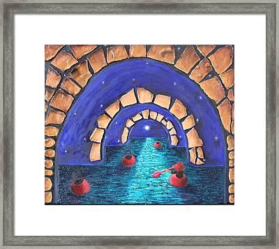 A Seeker Framed Print by Margarita Gokun