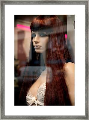 A Sense Of Self Framed Print by Jez C Self