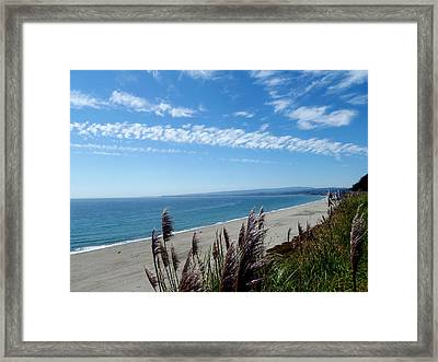 A Sense Of Space Framed Print