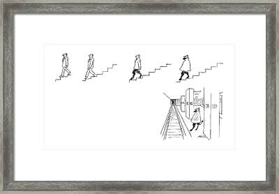 A Series Of Drawings Framed Print