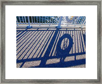 A Shadow Of Safety Framed Print