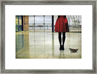 A Ship Song Framed Print by Ambra