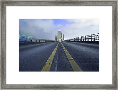 A Shot In The Dark Framed Print by Sheldon Blackwell