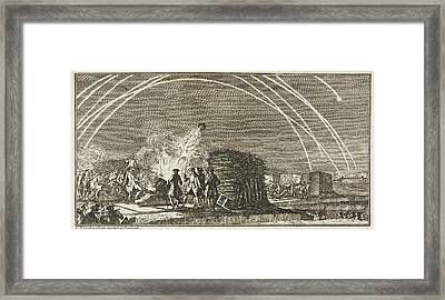 A Siege Framed Print by British Library