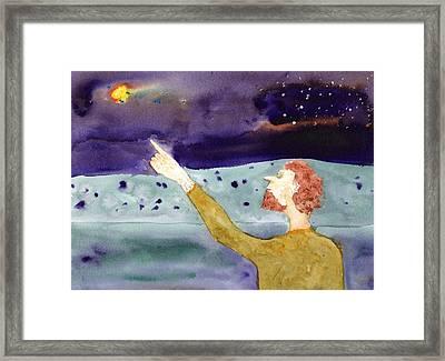 A Sighting Framed Print by Jim Taylor