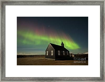 A Sign From Above Framed Print