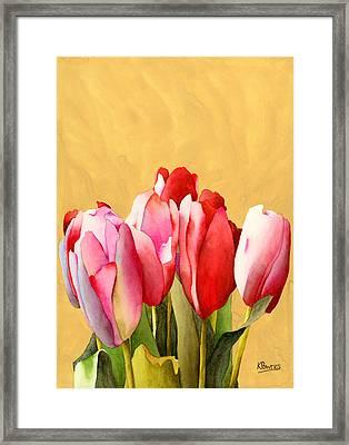 A Sign Of Spring Framed Print