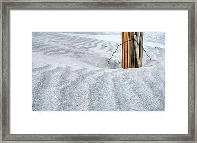 A Simple Posting Framed Print
