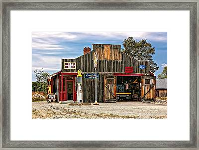 A Simpler Time 3 Framed Print