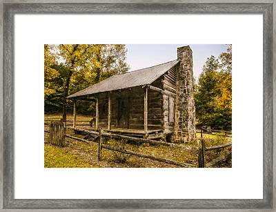 A Simpler Time Framed Print