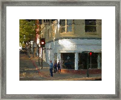 A Slo Afternoon Framed Print