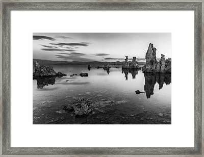 A Slow Dawn Framed Print by Jon Glaser