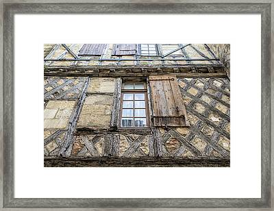 A Small Window Of Time Framed Print