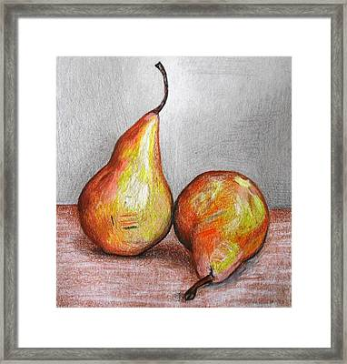 A Snack For You And Me Framed Print