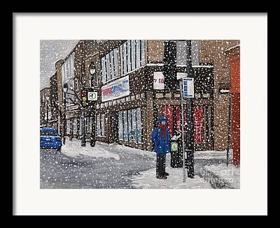 Verdun Winter Scenes Framed Prints