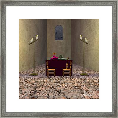 A Song For You Framed Print by Walter Oliver Neal