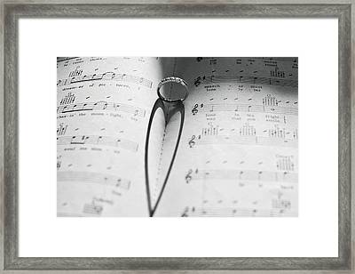 A Song In My Heart Framed Print by Terry DeLuco