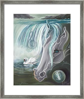 A Song Of Stillness Framed Print
