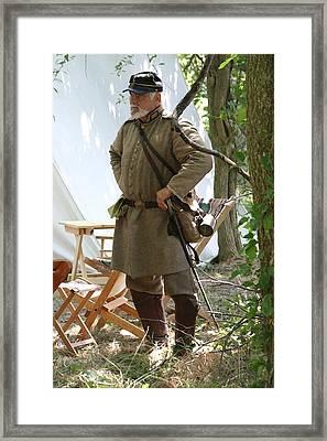 A Southern Officer And Gentleman  - Richmond Ky Framed Print