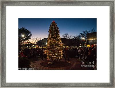 A Southern Pines Christmas 2 Framed Print