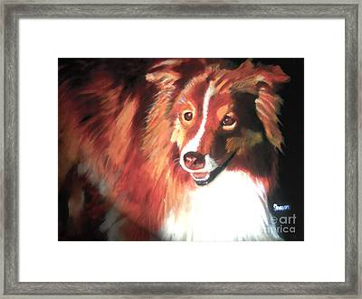 A Special Friend Framed Print by Sharon Burger