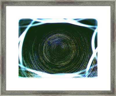 A Spiders View Framed Print