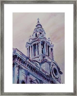 A Spire Of Saint Paul's Framed Print by Jenny Armitage