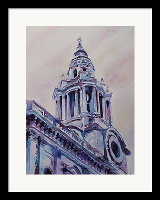 Neo-classical Mixed Media Framed Prints