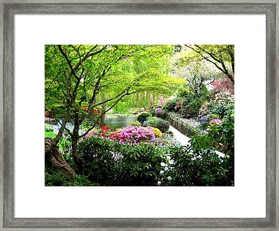 A Spiritual Place Framed Print by Shirley Sirois