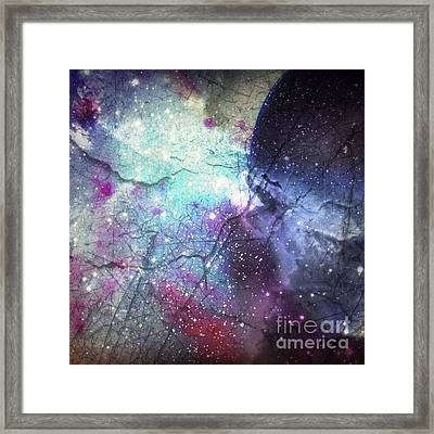 A Spoon #phoneart #abstract Framed Print