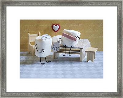 A Spoonful Of Sugar Framed Print by Heather Applegate