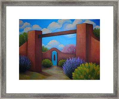 A Spring To Remember Framed Print