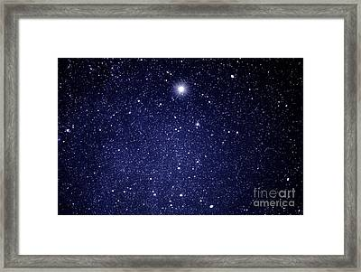 A Star Appeared In The East... Framed Print