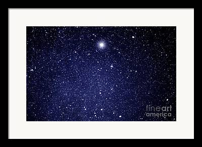 Stars And Planets Framed Prints