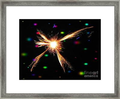 A Star In The Universe - Ile De La Reunion - Reunion Island - Indian Ocean Framed Print by Francoise Leandre