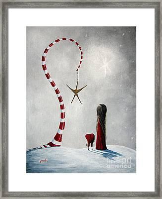 A Starlit Wish By Shawna Erback Framed Print by Shawna Erback