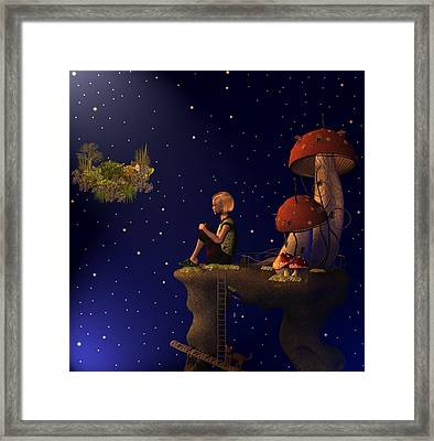A Starry Starry Night Framed Print